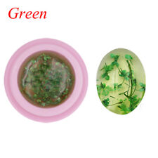 1 Bottle Natural Dried Flowers Series Nail UV GEL Polish DIY Manicure Decoration Green