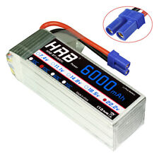 HRB 22.2V 6S 6000mAh LiPo Battery 50C-100C EC5 Plug for RC Helicopter Drone
