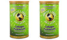 2PACK-ADVANCED FORMULA-Great Lakes Beef Gelatin Collagen Hydrolysate Fine Powder