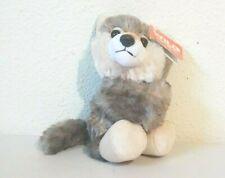 "Wild Republic Huggers Gray Wolf Slap Bracelet Stuffed Animal Plush 8"" NWT"