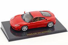 Ferrari 360 Modena Rojo con Vitrina 1:43 Altaya
