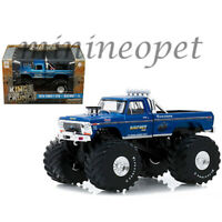 GREENLIGHT 88011 BIGFOOT #1 MONSTER TRUCK 1974 FORD F-250 PICK UP 1/43 BLUE
