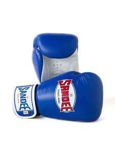 Sandee Kids Boxing Gloves Boys Girls Authentic Blue Childrens Kickboxing Gloves