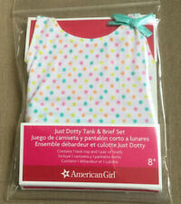 Nib American Girl Doll Just Dotty Tank & Brief Set