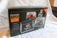 3 ERTL PRESTIGE 1:64 SCALE TRACTOR DISPLAY CASE WITH BLEACHER BRACKETS