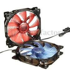 120mm 3/4Pin PWM Speed Control Case CPU Cooler Cooling Silent Fan for Computer