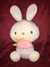 Mothercare Cream Beige Bunny Rabbit with Carrot 9""