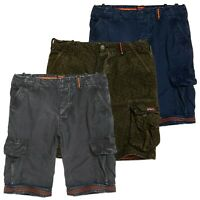 Superdry Shorts - Superdry Core Cargo Lite Shorts - Navy, Grey, Olive AOP - BNWT