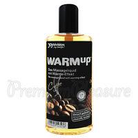 JoyDivision WARMup Coffee Massage oil Warming liquid Flavored lube 150ml