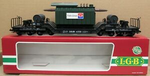 LGB 4058 Heavy-Duty 8-Axle Transformer Car G-Gauge NIB