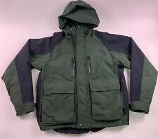 Mens Cabelas Gore-Tex Guidewear Jacket Extreme Weather Green Medium Fly Fishing
