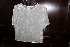 Rene Lezard NWT silk/rayon blouse euro size 34 US 4-6 200.00