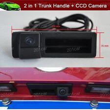 Car Trunk Handle + Reverse Camera Parking For Audi A3 A5 A6 A7 Q3 Q7 S6 S7 A6L