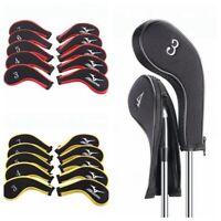 10pcs/set Golf Iron Head Cover For Golf Mizuno Irons Set