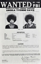 ANGELA DAVIS GLOSSY POSTER PICTURE PHOTO PRINT BLACK PANTHERS WANTED ACTIVIST