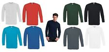 B&C BCTU003 T-Shirt Exact 150 Long Sleeve T Herren Langarm Shirt 10er Pack S-3XL