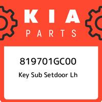 819701GC00 Kia Key sub setdoor lh 819701GC00, New Genuine OEM Part