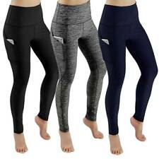 Femme  Poches Pantalon Jogging Leggings Yoga Entraînement Pantalon Gym Leggings