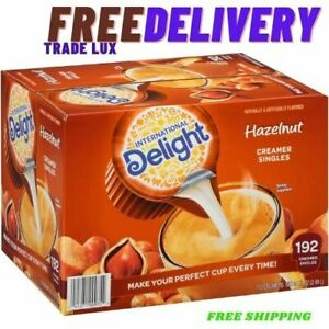 International Delight Hazelnut Coffee Creamer Singles (192 ct.) FREE SHIPPING