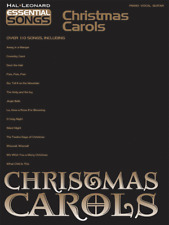 "Essential Song Series ""Christmas Carols"" Piano/Vocal/Guitar Music Book-New-Sale!"