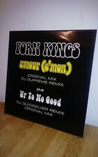Porn King's Amour Cmon plus Up to no good 12 inch vinyl Dance record