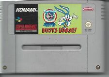 TINY TOON ADVENTURES - BUSTER BUSTS LOOSE for SNES Super Nintendo