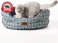 New listing Small Dog Bed for Small Dogs Washable - Cat Bed for Indoor Cats round Super Soft