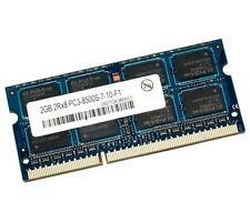 2gb ddr3 1066 MHz 2rx8 in modo DIMM RAM 204 pin memoria pc3-8500s NETBOOK