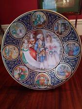 Pauline Ellison Cinderella Plate Porcelaine Franklin Par Haviland Limoges France