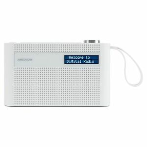 MEDION P66007 Tragbares Radio Bluetooth integr. Akku Weckfunktion DAB+ PLL-UKW