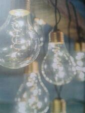 10 Retro Festoon Lightbulb String Lights - Outdoor or indoor use