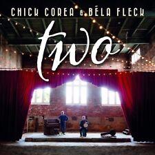 CHICK COREA & BELA FLECK - Two 2CD *NEW* 2016 Digipak