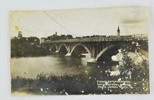 Nuevo Laredo, Mexico - Puente Internacional Bridge- Real Photo Postcard RPPC