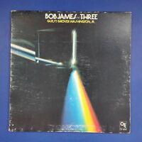 BOB JAMES Three CTI6063 Van Gelder LP Vinyl VG+ Cover VG+ GF