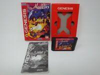 Aladdin - Sega Genesis CIB Complete in Box w/ Manual