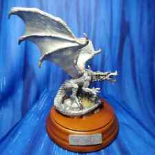 Mater Dragon Pewter Baby Eggs Figurine Rawcliffe US Made Sandra Garrity *NEW*