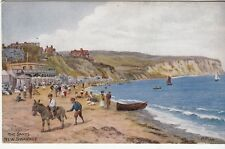 Postcard - THE SANDS, NEW SWANAGE