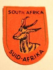 Vintage South Africa SQUID-AFRIKA Patch