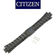 CITIZEN Watch Band CA0265-59E B612-S078342 Black Tone Bracelet Titanium