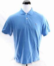 Vineyard Vines Whale Men's Blue Cotton Short Sleeve Polo Shirt Large