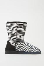 Womens Animal Print Boots Zebra Print Leopard Print
