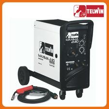 Saldatrice Inverter a filo Telwin MAXIMA 230 Synergic 230V - cod. 816088
