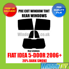 FIAT IDEA 5-door 2006 + 20% DARK POSTERIORE TASTINI finestra Tinta