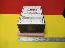 CALEX ELECTRIC POWER SUPPLY CONVERTER 2.12.240DV 12V 115V AS PICTURED &16-C-51