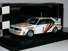 Minichamps Audi Quattro Clarion 1984 Rally Sweden #2 LTD ED 1/43