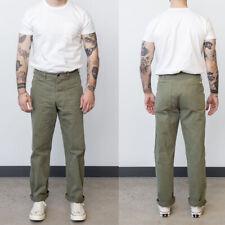 Work Replica US Army WWII USMC P41 Trousers Men's Vintage HBT Combat Cargo Pants