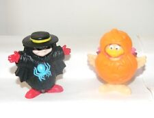 McDonald Toys ~ 1995 HALLOWEEN TOYS ~ # 5 Hamburglar and # 8 Birdie ~ Loose Toys