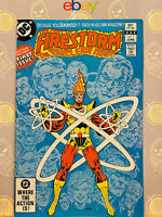 The Fury of Firestorm #1 (9.2) NM- The Nuclear Man 1982 Bronze Age Key Issue