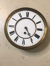 Vintage Vienna Regulator 1 Weight Clock Movement Dial  Parts