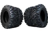 MASSFX SAW 26 ATV UTV Tire Kit 2 Front 26x9-12 Rear 26x11-12 Set of 4 Tires Rip
